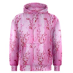 Pink Curtains Background Men s Pullover Hoodie