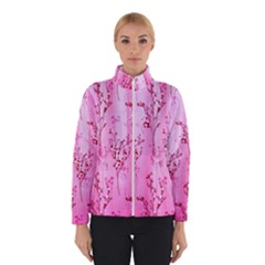 Pink Curtains Background Winterwear