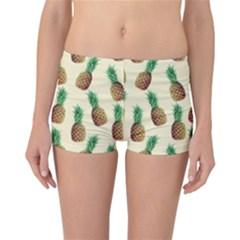 Pineapple Wallpaper Pattern Reversible Bikini Bottoms