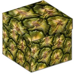 Pineapple Fruit Close Up Macro Storage Stool 12