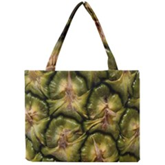 Pineapple Fruit Close Up Macro Mini Tote Bag