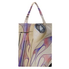 Pin Stripe Car Automobile Vehicle Classic Tote Bag