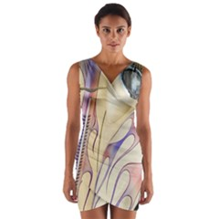 Pin Stripe Car Automobile Vehicle Wrap Front Bodycon Dress