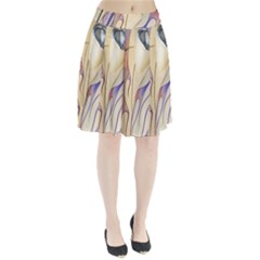 Pin Stripe Car Automobile Vehicle Pleated Skirt