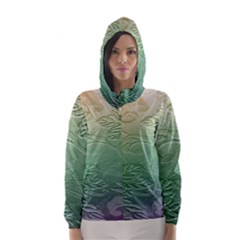 Plants Nature Botanical Botany Hooded Wind Breaker (women)