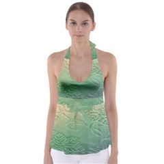 Plants Nature Botanical Botany Babydoll Tankini Top