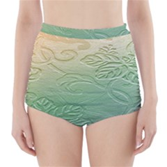 Plants Nature Botanical Botany High-Waisted Bikini Bottoms