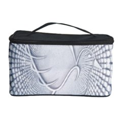 Points Circle Dove Harmony Pattern Cosmetic Storage Case