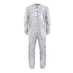 Points Circle Dove Harmony Pattern OnePiece Jumpsuit (Kids)