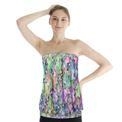 Presents Gifts Christmas Box Strapless Top