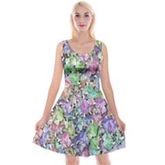 Presents Gifts Christmas Box Reversible Velvet Sleeveless Dress