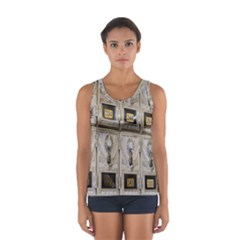 Post Office Old Vintage Building Women s Sport Tank Top