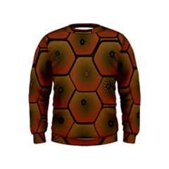Psychedelic Pattern Kids  Sweatshirt