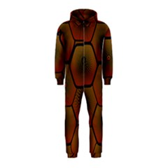 Psychedelic Pattern Hooded Jumpsuit (kids)