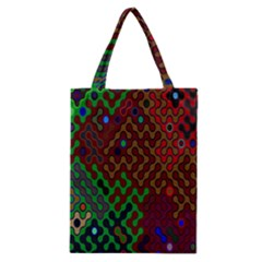 Psychedelic Abstract Swirl Classic Tote Bag
