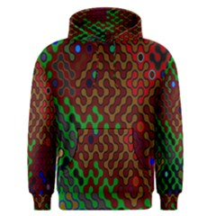 Psychedelic Abstract Swirl Men s Pullover Hoodie