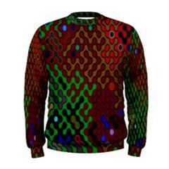 Psychedelic Abstract Swirl Men s Sweatshirt