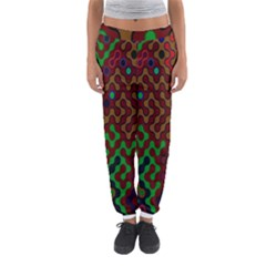 Psychedelic Abstract Swirl Women s Jogger Sweatpants
