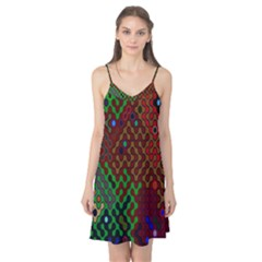 Psychedelic Abstract Swirl Camis Nightgown