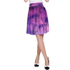 Purple Sky A Line Skirt