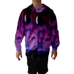 Purple Sky Hooded Wind Breaker (Kids)