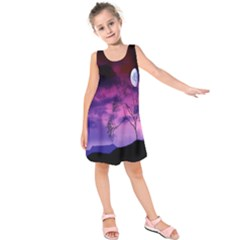 Purple Sky Kids  Sleeveless Dress