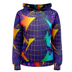 Recycling Arrows Circuit Women s Pullover Hoodie