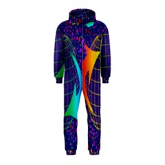 Recycling Arrows Circuit Hooded Jumpsuit (kids)