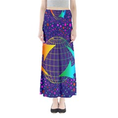 Recycling Arrows Circuit Maxi Skirts
