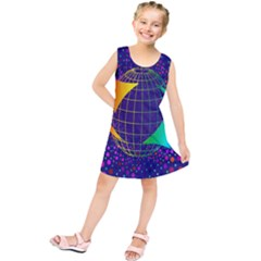 Recycling Arrows Circuit Kids  Tunic Dress