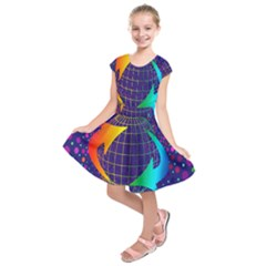 Recycling Arrows Circuit Kids  Short Sleeve Dress