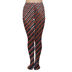Red And Black High Rise Building Women s Tights