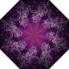 Purple Lotus Golf Umbrellas