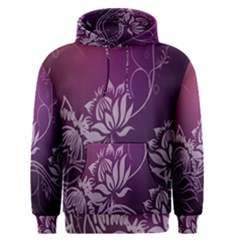 Purple Lotus Men s Pullover Hoodie