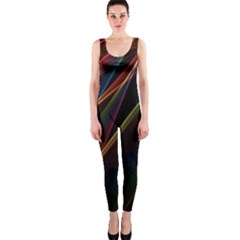 Rainbow Ribbons OnePiece Catsuit