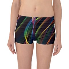 Rainbow Ribbons Reversible Bikini Bottoms