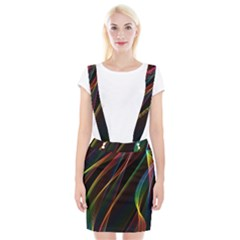 Rainbow Ribbons Suspender Skirt