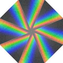 Rainbow Color Spectrum Solar Mirror Folding Umbrellas