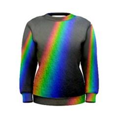 Rainbow Color Spectrum Solar Mirror Women s Sweatshirt
