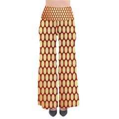 Red And Gold Effect Backing Paper Pants