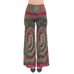 Red Green Swirl Twirl Colorful Pants