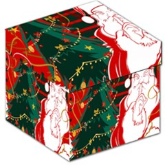 Santa Clause Xmas Storage Stool 12