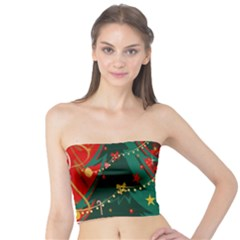 Santa Clause Xmas Tube Top