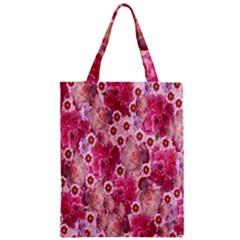 Roses Flowers Rose Blooms Nature Zipper Classic Tote Bag
