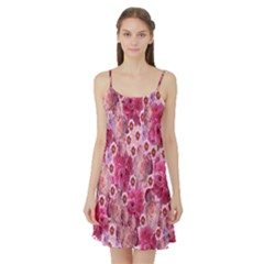 Roses Flowers Rose Blooms Nature Satin Night Slip
