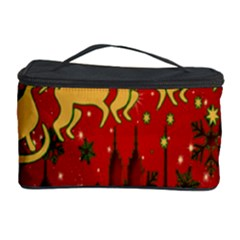Santa Christmas Claus Winter Cosmetic Storage Case