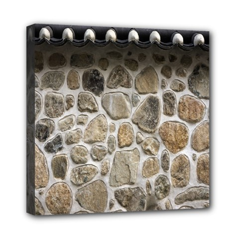 Roof Tile Damme Wall Stone Mini Canvas 8  x 8