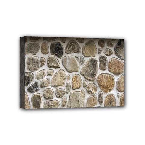 Roof Tile Damme Wall Stone Mini Canvas 6  x 4