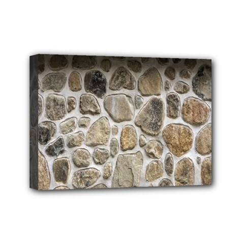 Roof Tile Damme Wall Stone Mini Canvas 7  x 5