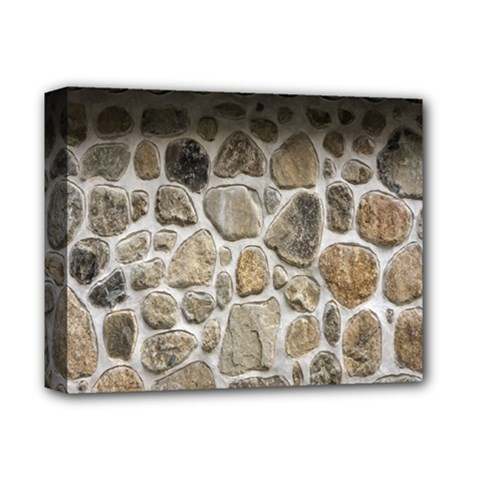 Roof Tile Damme Wall Stone Deluxe Canvas 14  X 11